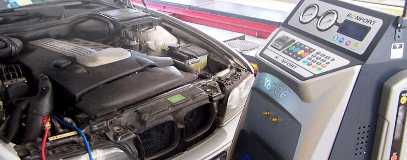 il gas e il filtro devono essere sostituiti regolarmente