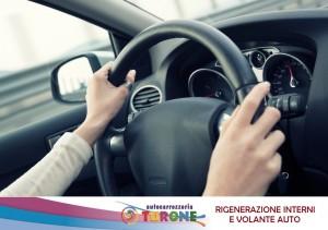 VOLANTE AUTO: RIPRISTINO E RIGENERAZIONE