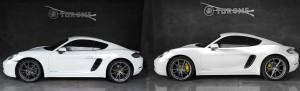 Personalizzazione pinze freni Porsche Cayman… un tocco di classe!